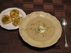 Chilled Potato Leek Soup