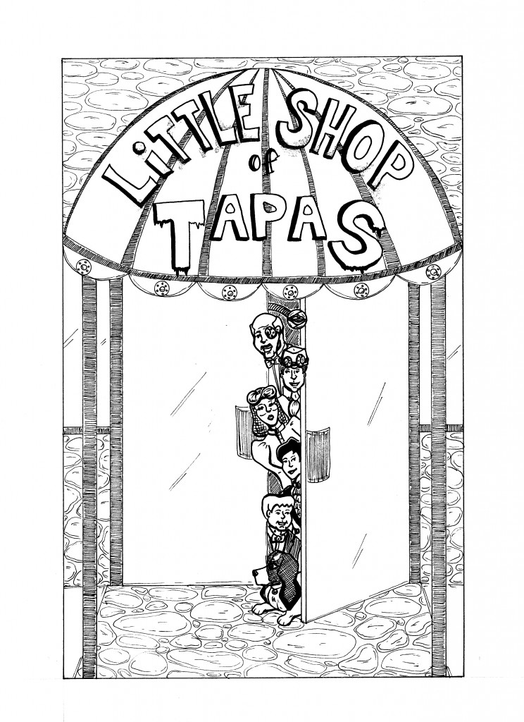 Cover of Chapter 1, Little Shop of Tapas, Copyright 2012 Jennifer Walker