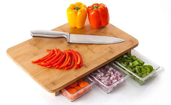 One Stop Chop Cutting Board via ThinkGeek.com